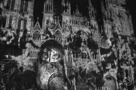 Cathédrale de lumière - Rouen