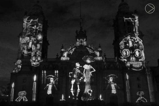 Bicentennial of Mexico's independence Videomapping