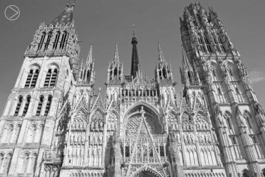 Cathédrale de Lumière, Rouen