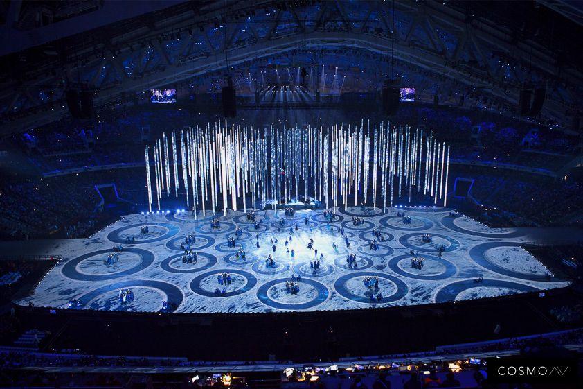Cérémonie d'ouverture des JO - Sochi